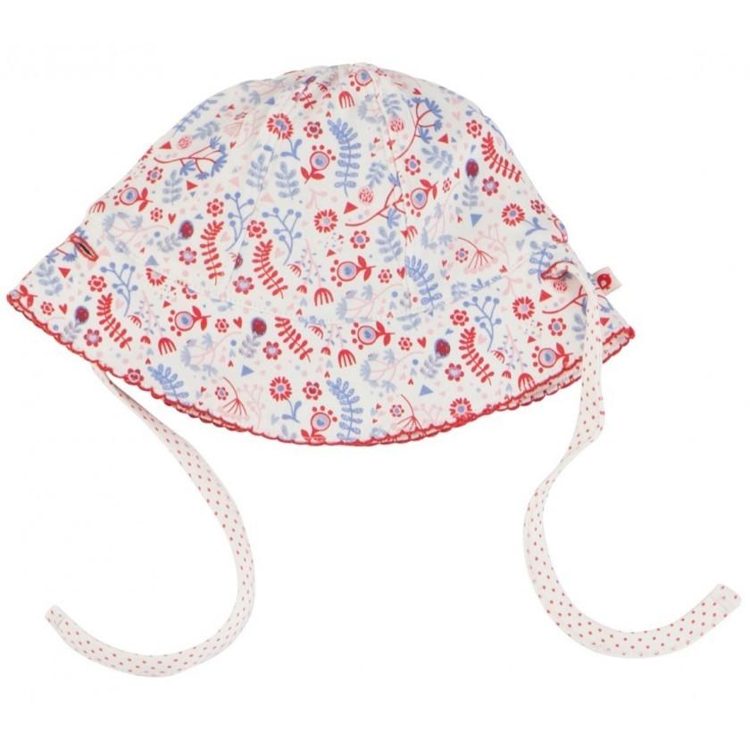 Cappello da sole reversibile: stampa a fiore
