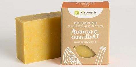 Sapone Arancia e Cannella